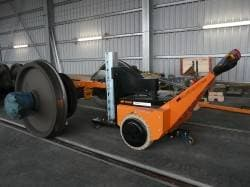 Bogie Pusher for Swiss rail