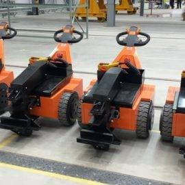 Battery powered tugs - electric tuggers