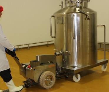 TP250 compact stainless steel powered pushers