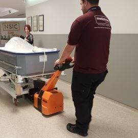 Battery Powered Tug in the NHS