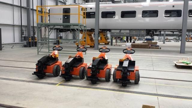 Rail pushers - Tractive Power